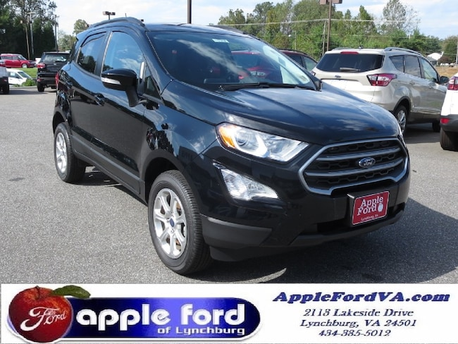 New 2018 Ford EcoSport SE SUV in Lynchburg, VA