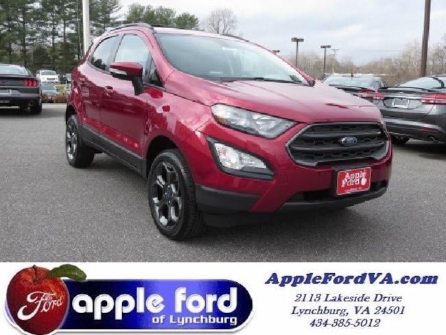 New 2018 Ford EcoSport SES SUV in Lynchburg, VA