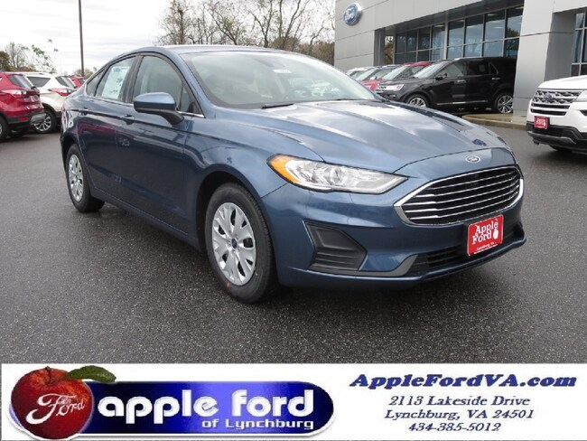 New 2019 Ford Fusion S Sedan in Lynchburg, VA