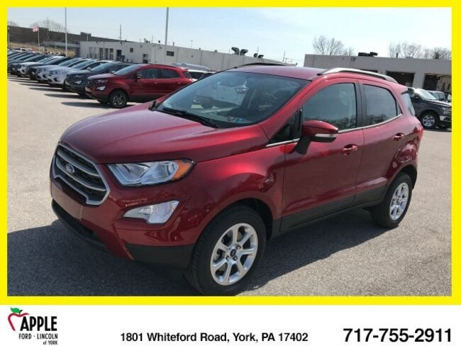 New 2018 Ford EcoSport SE SUV For sale/lease York, PA