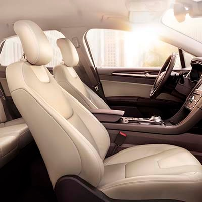 leather seats - interior of car Ford Fusion