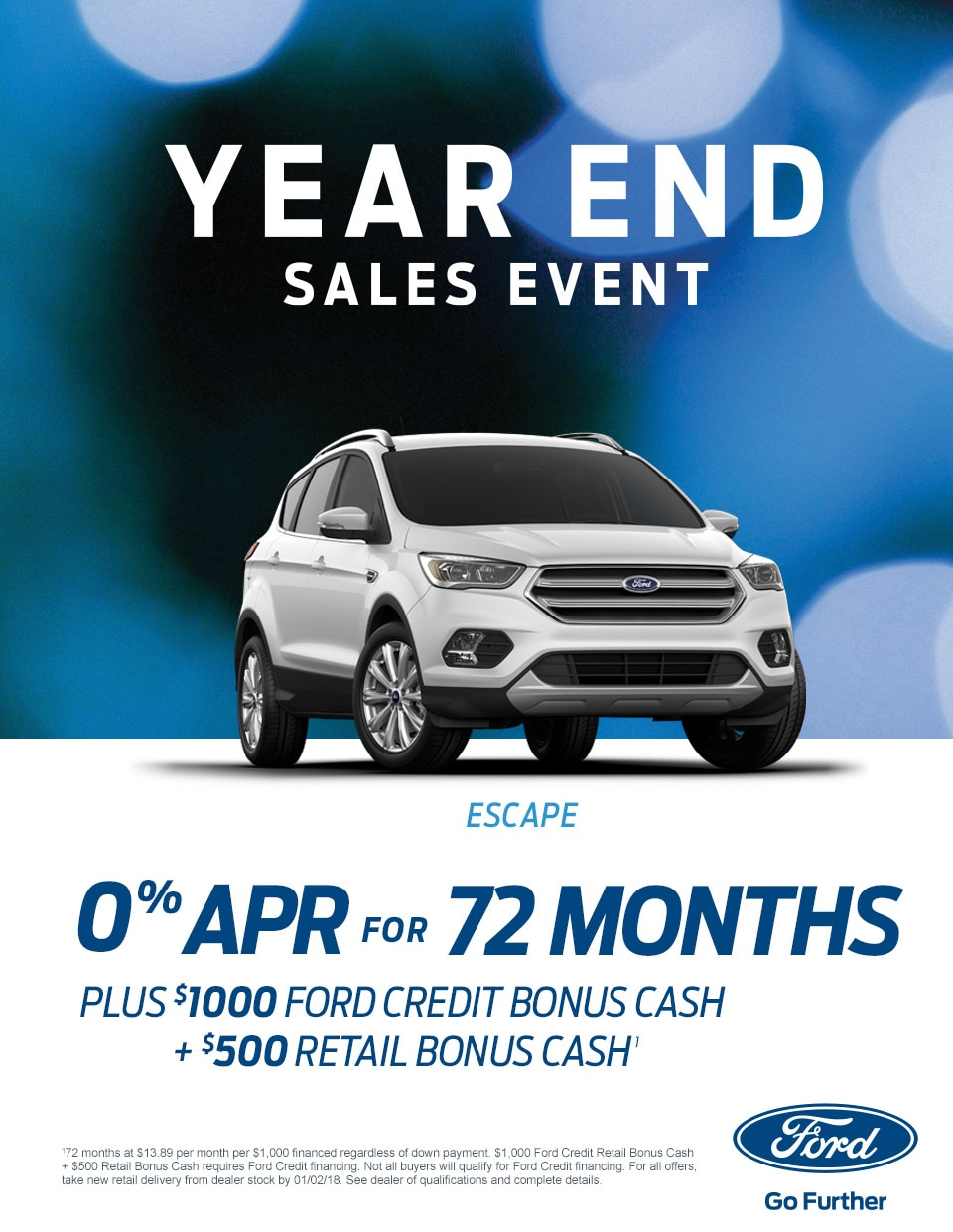 Ford Year End Sale Event Yearend Deals On Vehicles