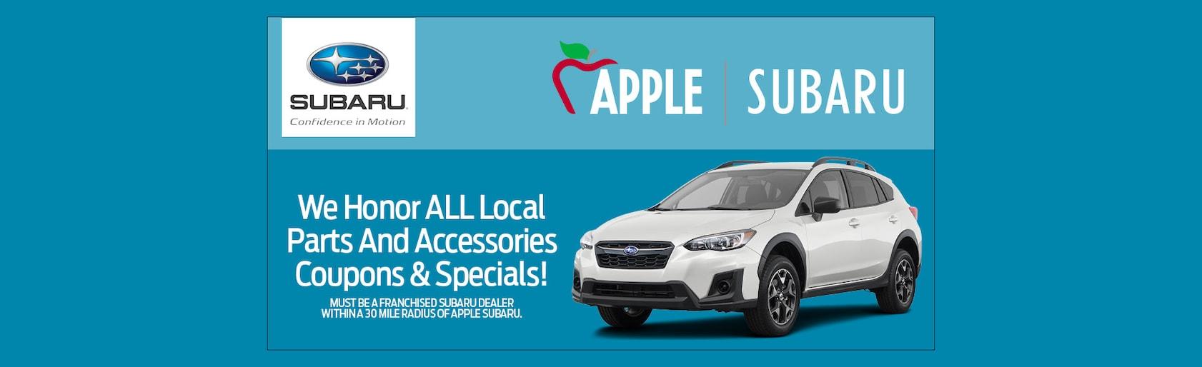 Apple Subaru in York, PA | Subaru Sales & Service in York County
