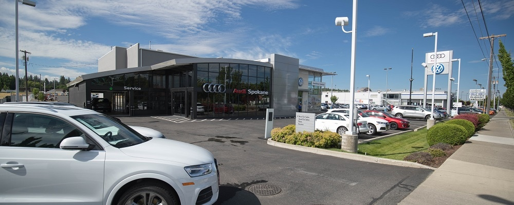 Street view of Audi Spokane
