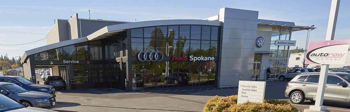 Audi Dealer Near Spokane Audi Spokane - Audi spokane