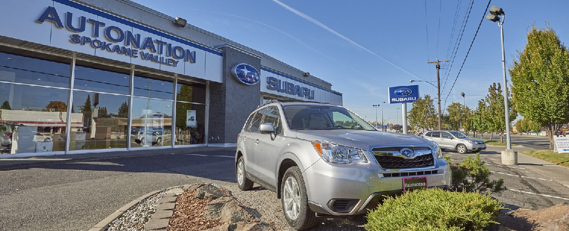 AutoNation Subaru Spokane Valley Exterior