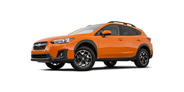 2018 Subaru Crosstrek Seat Height