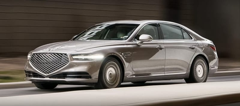 Genesis of Arapahoe - The 2021 Genesis G90 is an elegant sedan near Colorado Springs CO