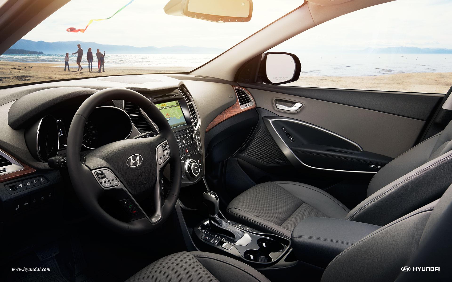 Superbe Interior   2018 Hyundai Santa Fe By Littleton CO