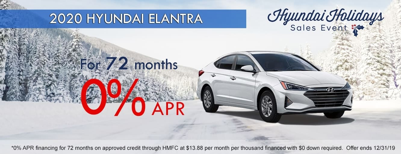 2019 Hyundai Holidays Sales Event in Centennial CO