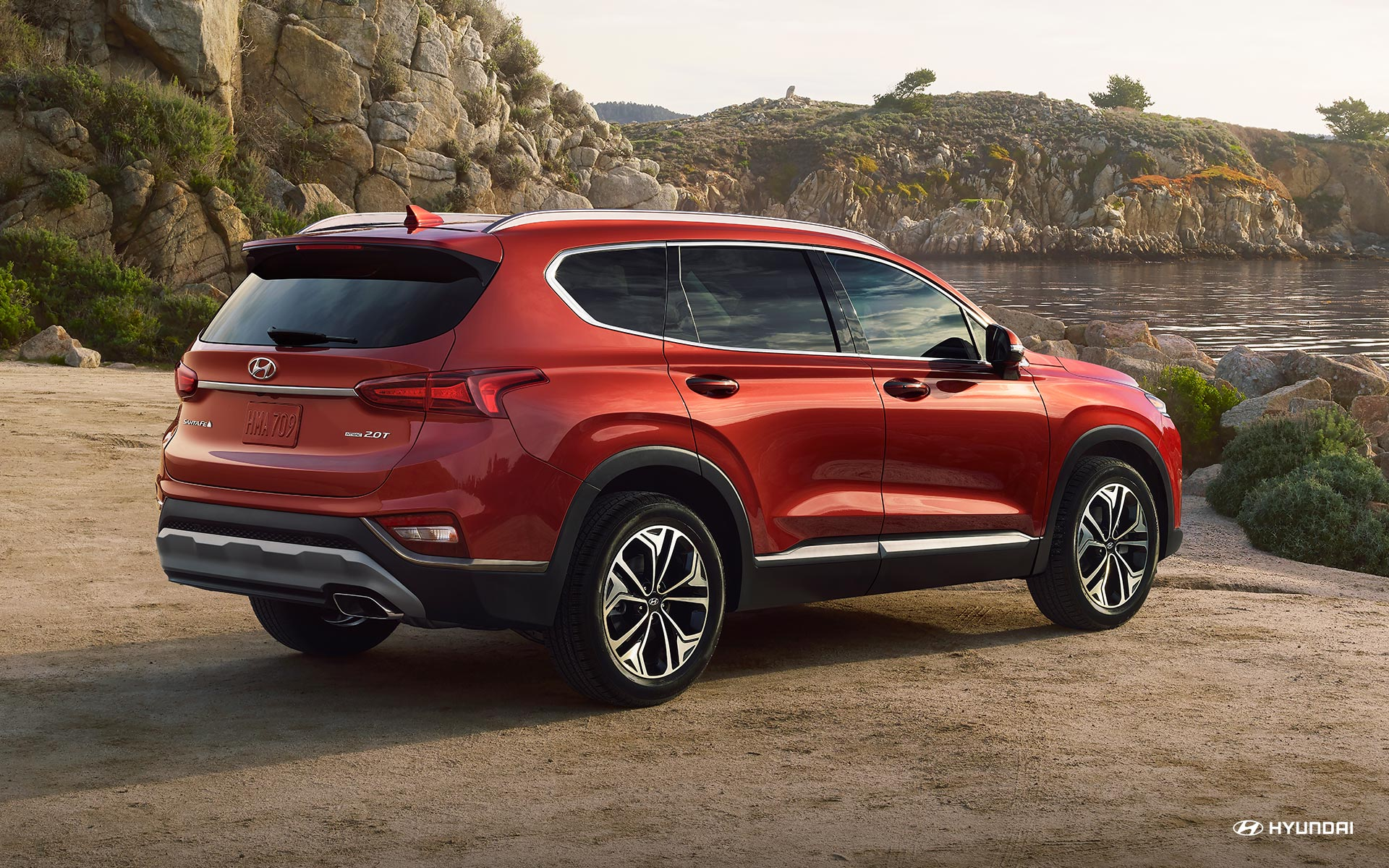 Test drive the 2020 Hyundai Santa Fe near Littleton CO