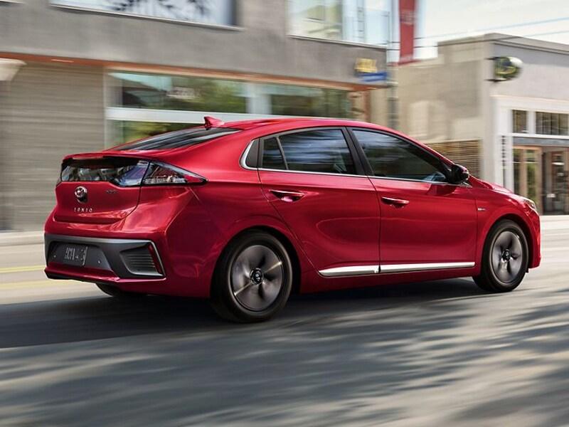 The 2020 Hyundai Ioniq Hybrid thrills drivers in Centennial CO