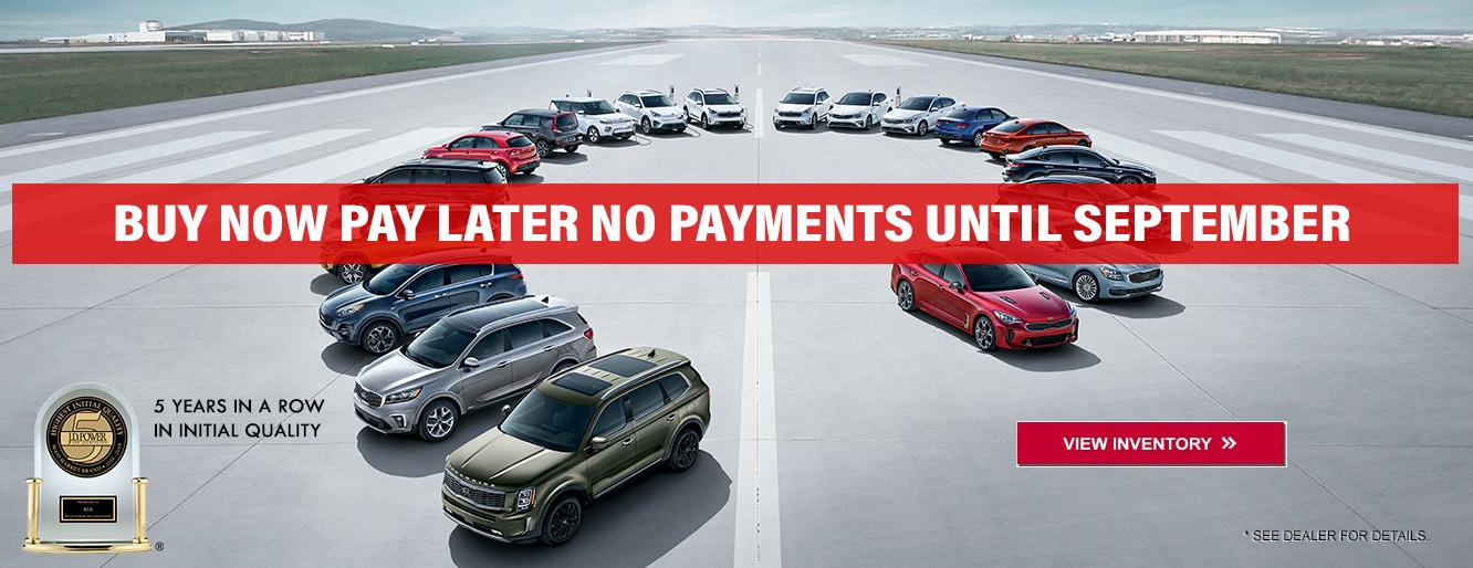 Kia No Payments Until September in Centennial CO