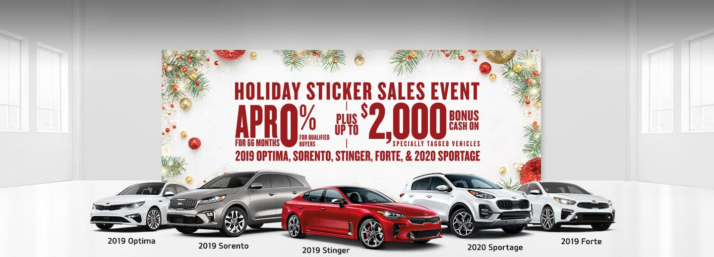 Save Big at the Kia Holiday Sticker Sales Event in Centennial CO