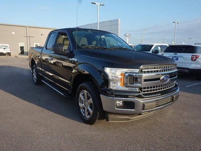 2018 Ford F-150 XLT 2WD Supercab 6.5 Box Extended Cab Pickup