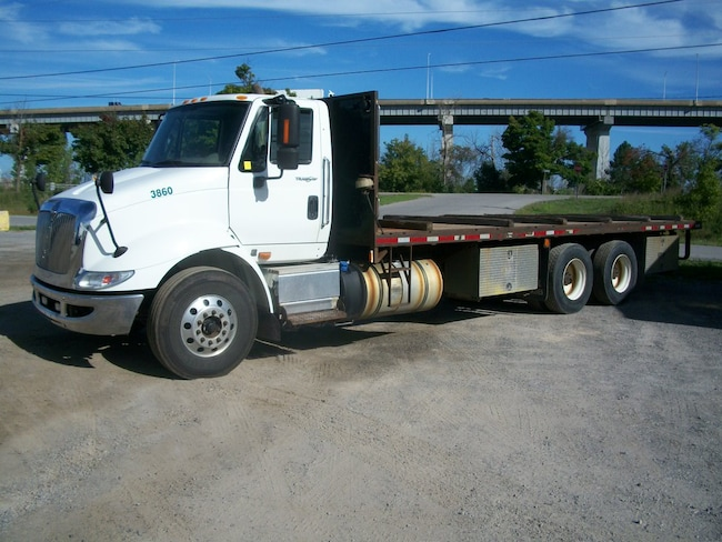 2014 INTERNATIONAL TRANSTAR W/26' DECK