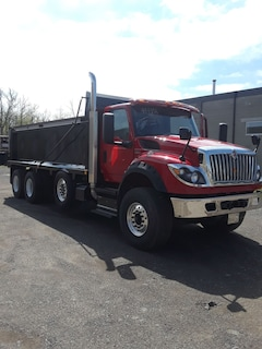 2019 INTERNATIONAL HV-613 TRI-AXLE DUMP CHASSIS