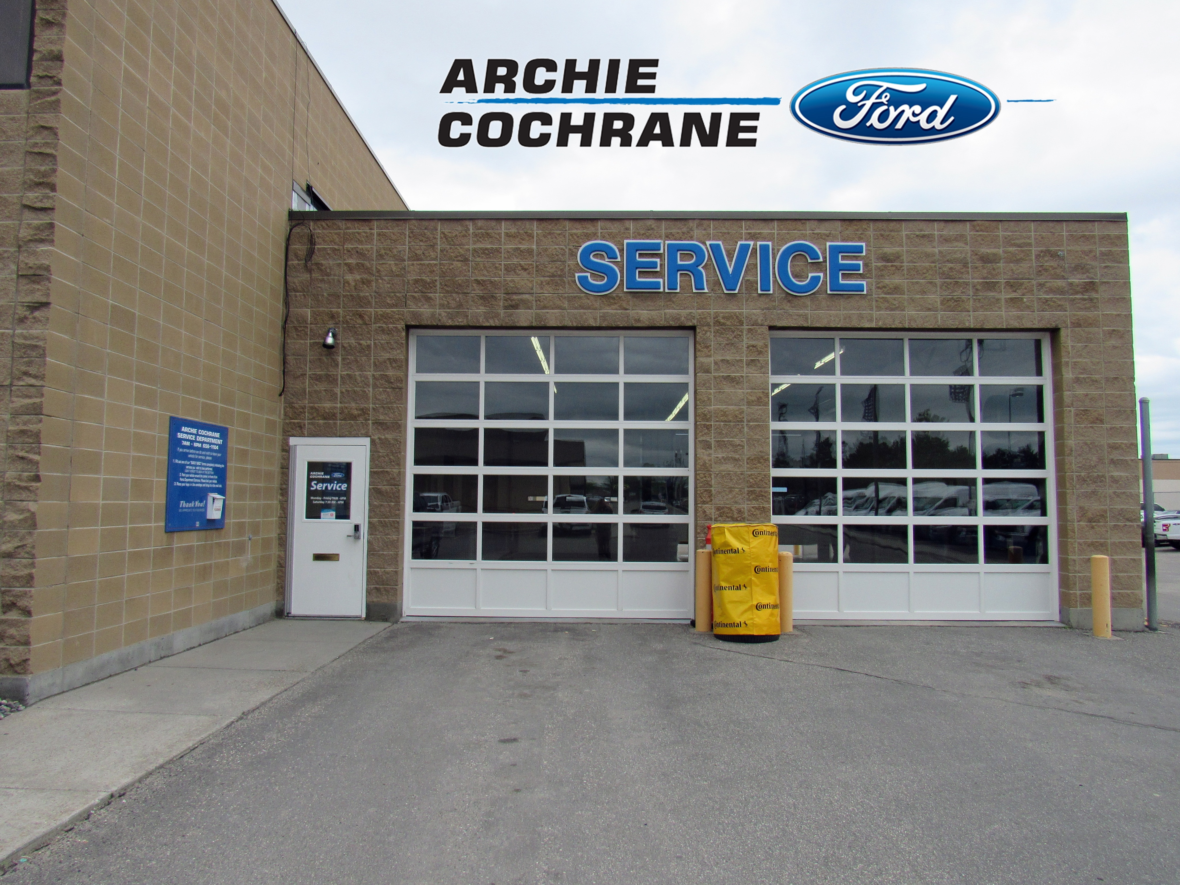 Ford Billings Mt >> Ford Service Center Archie Cochrane Ford