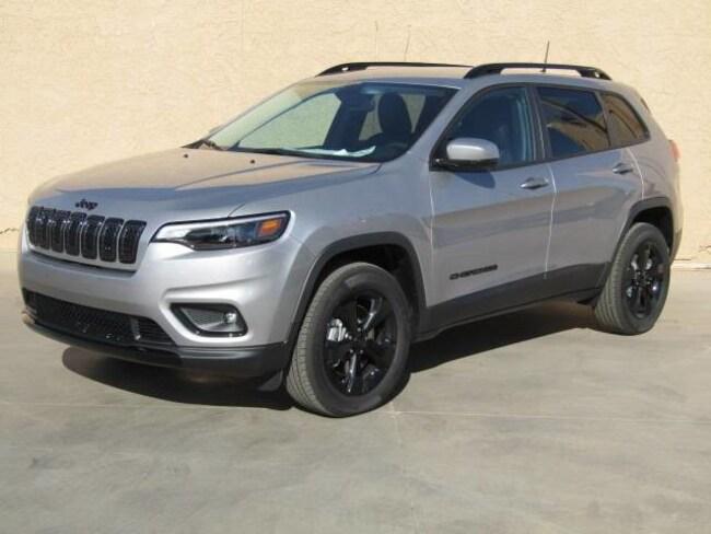 New 2019 Jeep Cherokee ALTITUDE 4X4 Sport Utility in Safford, AZ