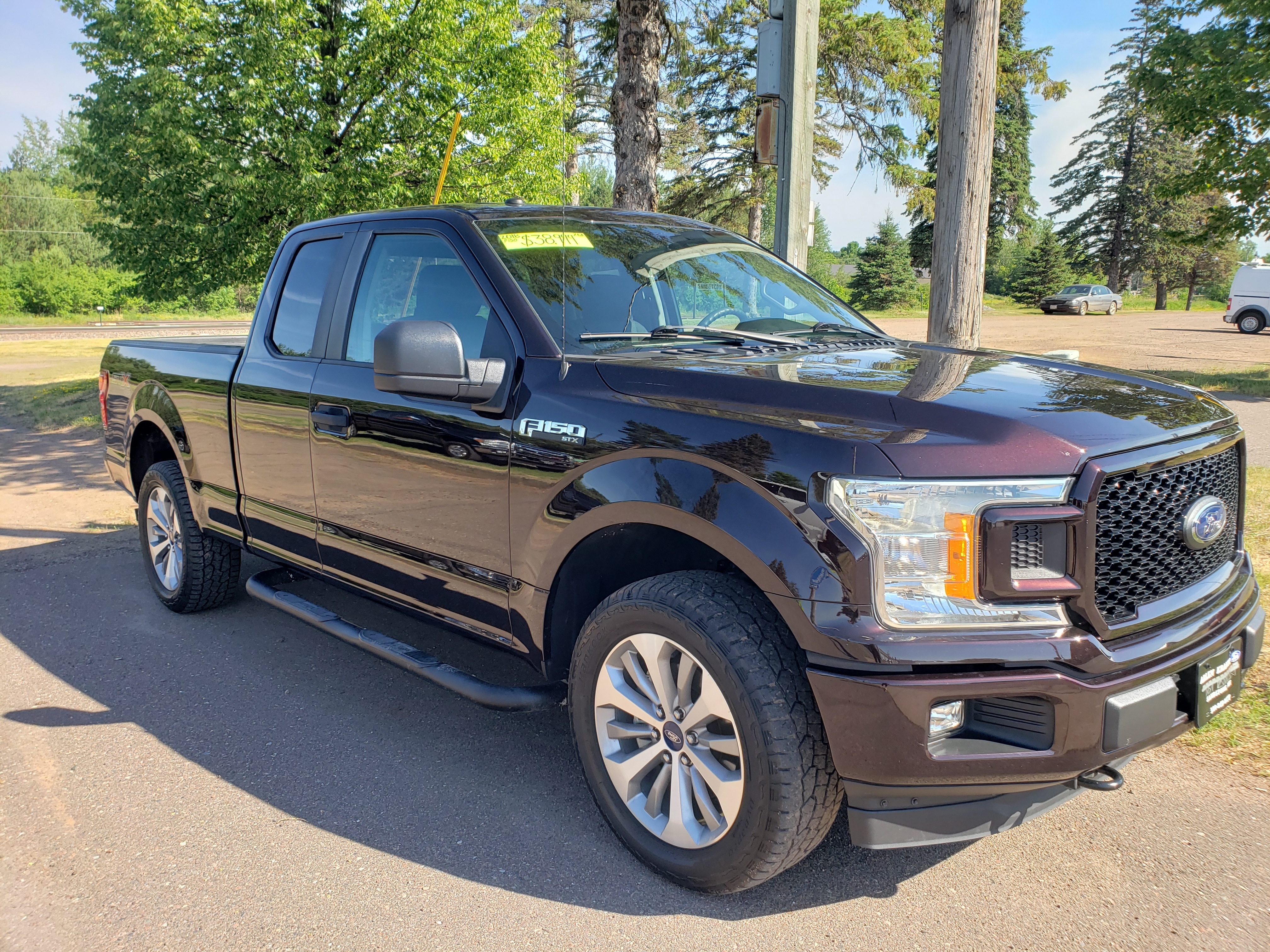 Used 2018 Ford F-150 XL with VIN 1FTEX1EP4JFA90085 for sale in Sandstone, Minnesota