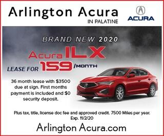 Brand New 2020 Acura ILX