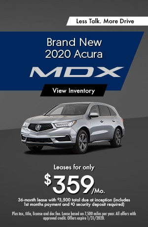 2020 Acura MDX - Lease