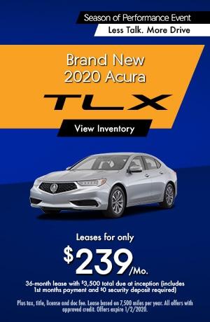 2020 Acura TLX Lease