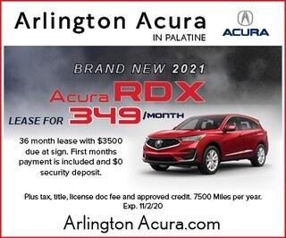 Brand New 2021 Acura RDX