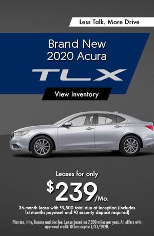 2020 Acura TLX - Lease