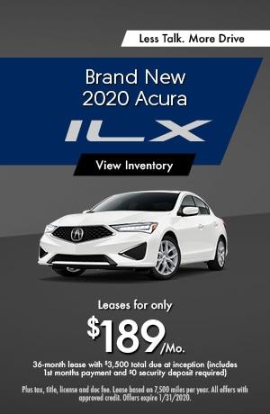 2020 Acura ILX - Lease
