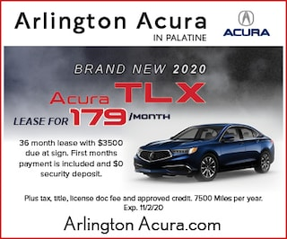 Brand New 2020 Acura TLX