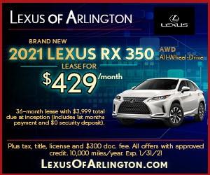 Brand New 2021 LEXUS RX 350 AWD