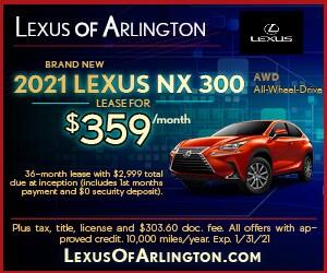 Brand New 2021 LEXUS NX 300 AWD
