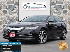 2015 Acura TLX V6 TECH PKG | NAV | BLINDSPOT | REMOTE START |  Sedan