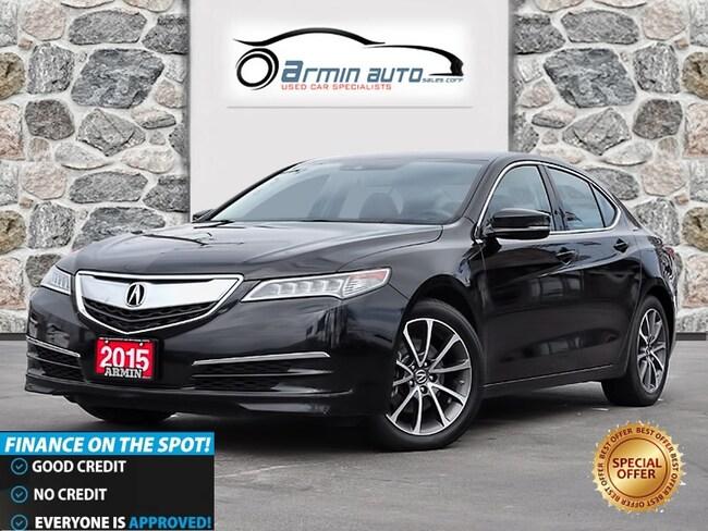 2015 Acura TLX V6 TECH PKG | NAV | BLINDSPOT | REMOTE START |  Sedan