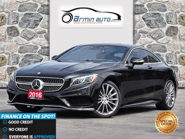 2016 Mercedes-Benz S-Class S550 4MATIC COUPE | INTELLIGENT DRIVE |  Coupe