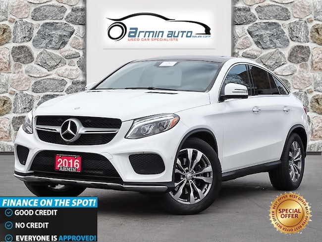 2016 Mercedes-Benz GLE 350C 350d 4MATIC **LOW MILEAGE** Coupe