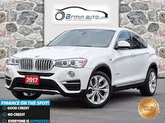 2017 BMW X4 xDrive28i | NAV | SUNROOF | HEATED STEERING | SUV