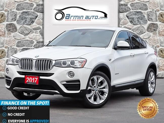 2017 BMW X4 xDrive28i | NAV | SUNROOF | HEATED STEERING | SUV