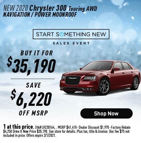 2020 Chrysler 300 Touring AWD