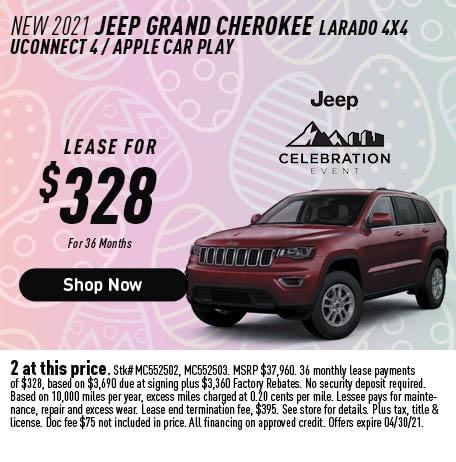 2021 Jeeo Grand Cherokee Laredo 4x4