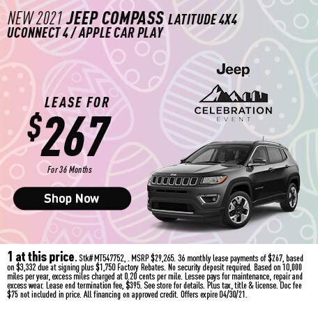 2021 Jeep Compass Latitude 4x4