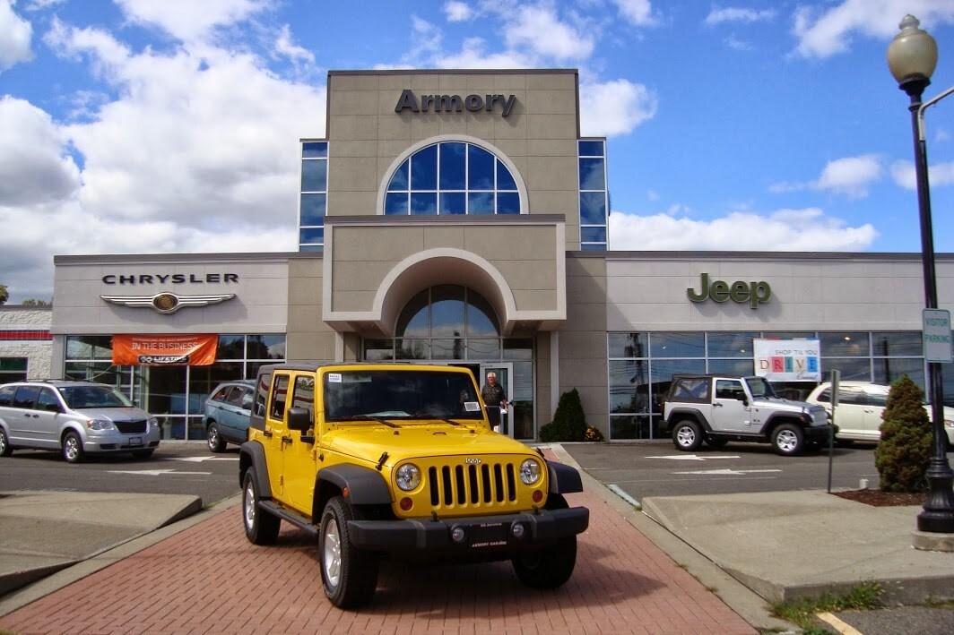 Armory Garage: Chrysler, Dodge, Jeep, Ram, FIAT U0026 Pre Owned ...