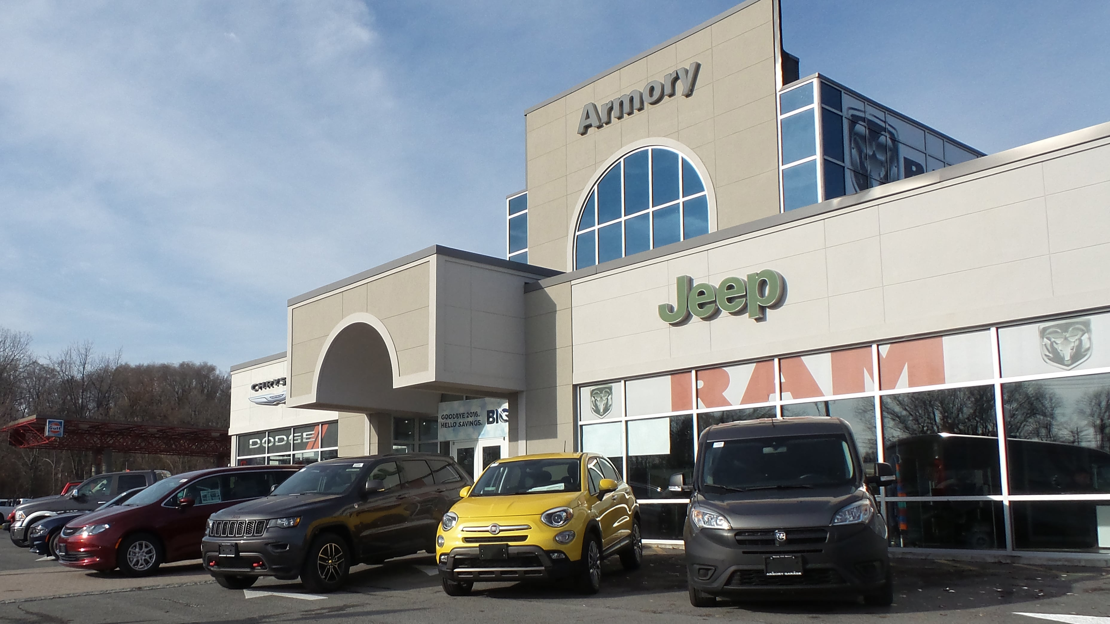 About Armory Garage   Proudly Offering New And Used Chrysler, Dodge, Jeep,  RAM And FIAT Vehicles Near Albany, Troy, Clifton Park, Latham, Schenectady,  NY