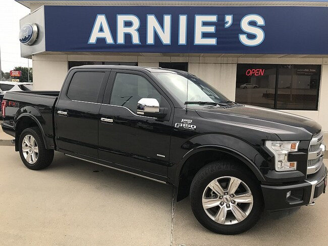 2015 Ford F150 4WD Platinum Full Size Truck