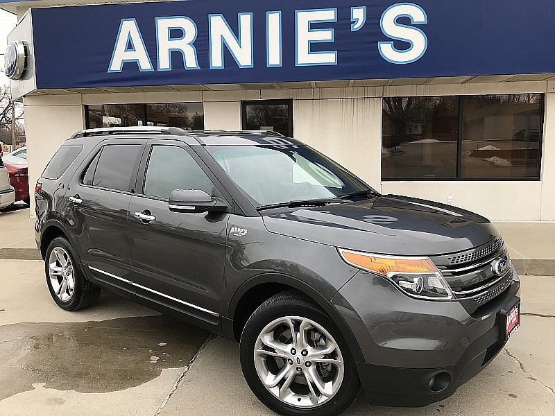 2015 Ford Explorer Limited Full Size SUV