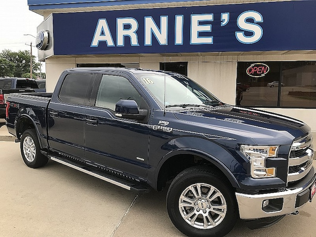 2016 Ford F150 4WD Lariat Full Size Truck