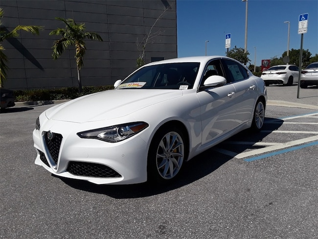 New 2019 Alfa Romeo Giulia For Sale West Palm Beach Fl