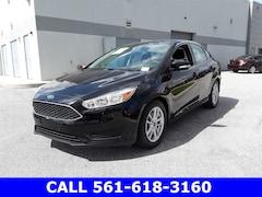 Used 2017 Ford Focus SE Sedan 1FADP3F29HL225735 for Sale in West Palm Beach, FL