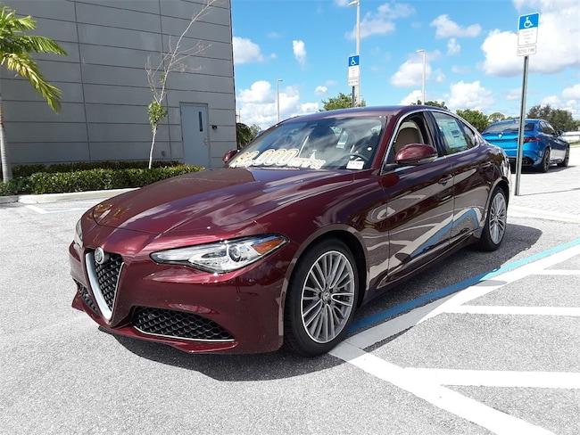2019 Alfa Romeo Giulia Ti LUSSO RWD Sedan